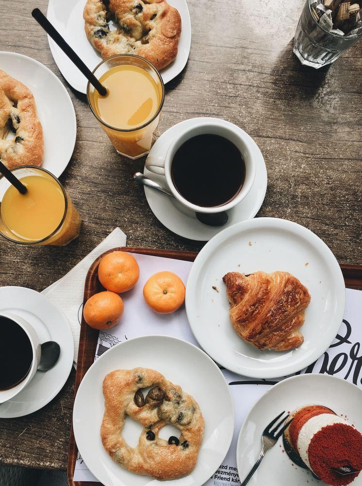 Frukost på bageriet